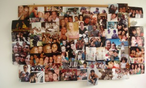 Os retratos que ficam no banheiro rs