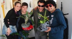 Cecé, Denis, Luna, Rogerio