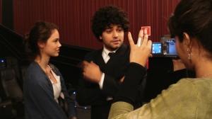 A Lina um amiga querida que gravou a entrevista...
