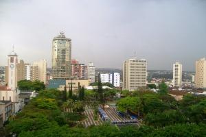 vista do hotel em uberlândia