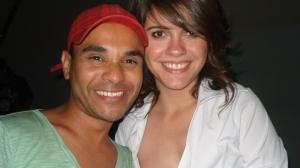 Alio coelho e Elisa Veeck, amigos queridos curtindo noss festa Na Gandaia www.nagandaiafesta.com.br